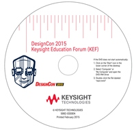 Keysight's DesignCon 2015 DVD