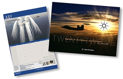 Agilent's 2012 Aerospace and Defense Calender